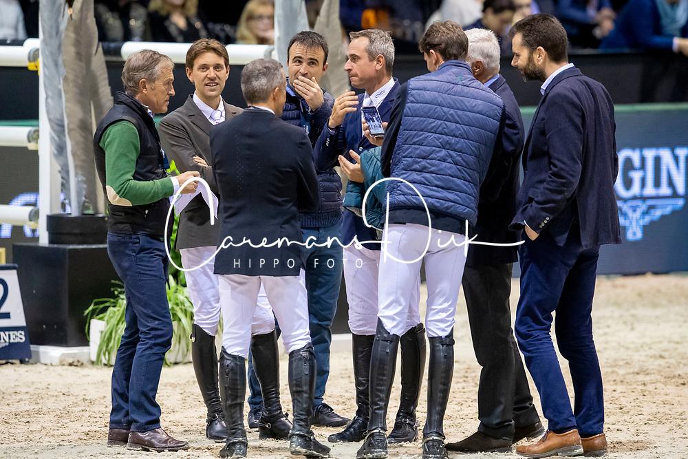 Delestre Simon, FRA, Epaillard Julian, FRA, Nooren Henk, NED<br /> Jumping International de Bordeaux 2020<br /> © Hippo Foto - Dirk Caremans<br />  08/02/2020