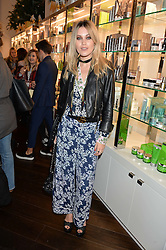 KARA ROSE MARSHALL at the launch of the Space NK Global Flagship store at 285-287 Regent Street, London on 10th November 2016.