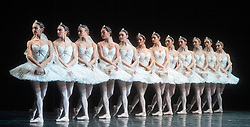 La Bayadere <br /> A ballet in three acts <br /> Choreography by Natalia Makarova <br /> After Marius Petipa <br /> The Royal Ballet <br /> At The Royal Opera House, Covent Garden, London, Great Britain <br /> General Rehearsal <br /> 30th October 2018 <br /> <br /> STRICT EMBARGO ON PICTURES UNTIL 2230HRS ON THURSDAY 1ST NOVEMBER 2018 <br /> <br /> Shades <br /> <br /> Photograph by Elliott Franks Royal Ballet's Live Cinema Season - La Bayadere is being screened in cinemas around the world on Tuesday 13th November 2018 <br /> --------------------------------------------------------------------
