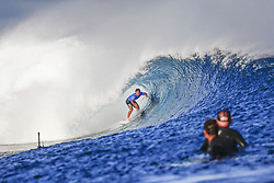 June 15, 2017 - Rookie Ian Gouveia of Brazil finishes equal 9th in the Outerknown Fiji Pro after placing second to fellow rookie Leonardo Fioravanti in Heat 2 of Round Five in excellent Cloudreak conditions...Outerknown Fiji Pro, Nadi, Fiji - 15 Jun 2017. (Credit Image: © Rex Shutterstock via ZUMA Press)