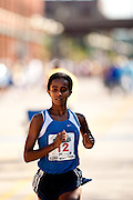 Winner of the Women's Quad Cities Marathon 2009, Buzunesh Deba