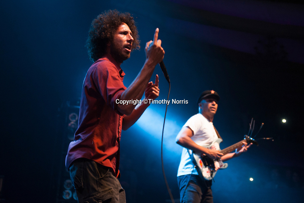 Rage Against the Machine performs at The Palladium on July 23, 2010 in Los Angeles, California.