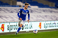 Cardiff City's Joe Bennett (3) in action during the EFL Sky Bet Championship match between Cardiff City and Barnsley at the Cardiff City Stadium, Cardiff, Wales on 3 November 2020.