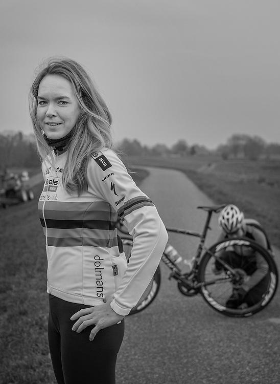 Netherlands. Zwolle, 26-11-2018. Photo: Patrick Post. Portrait of Anna van der Breggen.