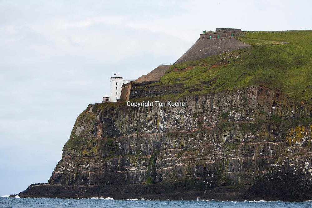 lighthouse on cathlin island, northern Ireland
