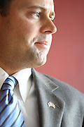 Organizing for America (OFA), a grassroots project of the Democratic National Committee (DNC) dedicated to supporting the President's agenda for change, thanked Congressman Tom Perriello for his support with the health care reform Tuesday in Charlottesville. .. Photo/Andrew Shurtleff......
