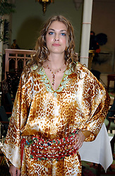 LAURE DE CLERMONT-TONNERRE at a fashion show of Sybil Stanislaus Summer 2005 collection with jewellery by Philippa Holland held at The Lanesborough Hotel, Hyde Park Corner, London on 13th April 2005.<br /><br />NON EXCLUSIVE - WORLD RIGHTS