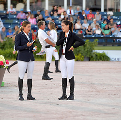 March 9, 2019 - Wellington, Florida, United States Of America - WELLINGTION, FL - MARCH 09: SATURDAY NIGHT LIGHTS: Laura Kraut, Jessica Springsteen participates The highlight event of week 9 at the 2019 Winter Equestrian Festival, the $391,000 Douglas Elliman Real Estate Grand Prix CSI 5*. The Winter Equestrian Festival (WEF) is the largest, longest running hunter/jumper equestrian event in the world held at the Palm Beach International Equestrian Center on March 09, 2019  in Wellington, Florida..People:  Laura Kraut, Jessica Springsteen. (Credit Image: © SMG via ZUMA Wire)