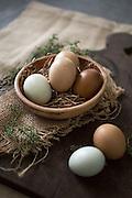 Farm eggs and Rosemary