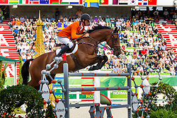 Jeroen Dubbeldam, (NED), Zenith SFN, World Champions, - Second Round Team Competition - Alltech FEI World Equestrian Games™ 2014 - Normandy, France.<br /> © Hippo Foto Team - Leanjo De Koster<br /> 25/06/14