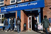 Kensington and Chelsea College, Kensington site
