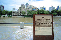 A-bomb Memorial Plaque