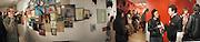 Richard Priestley, Sue Webster and Detmar Blow. Barry McGee private view. Modern Art. Redchurch St. 7 September 2002. © Copyright Photograph by Dafydd Jones 66 Stockwell Park Rd. London SW9 0DA Tel 020 7733 0108 www.dafjones.com