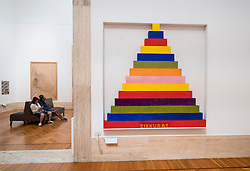 Installation Zikkurat 2 by Sam Tilson at  National Gallery of Modern and Contemporary Art , Rome, Italy