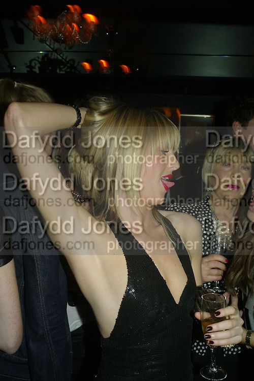 Lady Emily Compton and Rosie Marchiones of Northampton,  Tatler's Little Black Book party. Tramp. Jermyn St.  London. 7 November 2007. -DO NOT ARCHIVE-© Copyright Photograph by Dafydd Jones. 248 Clapham Rd. London SW9 0PZ. Tel 0207 820 0771. www.dafjones.com.