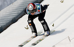 DAMJAN Jernej, SSK Ilirija, SLO  competes during Flying Hill Individual Third Round at 3rd day of FIS Ski Flying World Championships Planica 2010, on March 20, 2010, Planica, Slovenia.  (Photo by Vid Ponikvar / Sportida)