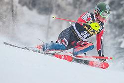 Trevor Philp (CAN) during 1st run of Men's Slalom race of FIS Alpine Ski World Cup 57th Vitranc Cup 2018, on March 4, 2018 in Kranjska Gora, Slovenia. Photo by Ziga Zupan / Sportida