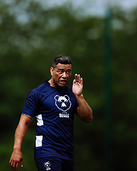 Siale Piutau looks on as Bristol Bears start to use their new almost completed Training centre - Rogan/JMP - 08/07/2020 - RUGBY UNION - Beggar Bush Lane - Bristol, England.