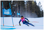 Team GB's Daisi Daniels competes in the women's Super G during the Lausanne 2020 Youth Olympic Games at Les Diablerets Alpine Centre in Switzerland. January 2020
