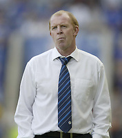 Photo: Aidan Ellis.<br /> Leicester City v Queens Park Rangers. Coca Cola Championship. 15/09/2007.<br /> Leicester's manager Gary Megson looks distraught as his side can only draw with QPR