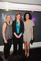 Left to right, SAMANTHA MANN, SARAH BROWN and Margherita Taylor at a party to promote Marie Claire magazine Inspire & Mentor Campaign held at The Loft, The Ivy Club, West Street, London on 30th March 2010.