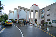 A Muslim imam in his 70s has been stabbed inside London Central Mosque near the residence of the Ambassador of the United States of America beside London's Regent's Park and a suspect arrested on suspicion of attempted murder on Thursday, Feb. 20, 2020. (AP Photo/Vudi Xhymshiti)