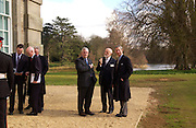 Richard Gray, Sir Peter Moores and Prince Charles, Official opening Compton Verney, 23 March 2004. ONE TIME USE ONLY - DO NOT ARCHIVE  © Copyright Photograph by Dafydd Jones 66 Stockwell Park Rd. London SW9 0DA Tel 020 7733 0108 www.dafjones.com