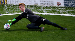 Charlton Athletic goalkeeper Ben Amos players warming up before the game