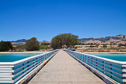 Pier at San Simeon State Beach, San Luis Obispo County, California, USA