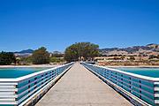 Pier at San Simeon State Beach, San Luis Obispo County, California, USA