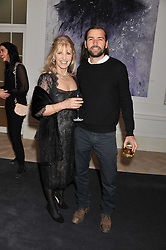 LINDY BROCKWAY sister of Richard Branson and her son JACK BROCKWAY at a party to celebrate the publication of Mum's The Word by Eve Branson held at Grace, West Halkin Street, London on 11th March 2013.