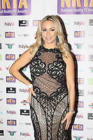 Kristina Rihanoff, National Reality TV Awards, Porchester Hall, London UK, 29 September 2016, Photo by Richard Goldschmidt