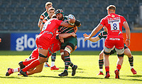 Rugby Union - 2019 / 2020 Gallagher Premiership - Leicester Tigers vs Sale Sharks<br /> <br /> Jordan Taufua of Leicester Tigers at Welford Road.<br /> <br /> COLORSPORT/LYNNE CAMERON