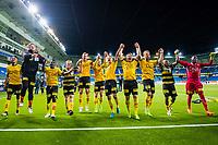 Fotball , 21 September 2017 , Norgesmesterskapet, NM Semifinale , Cup , Molde - Lillestrøm , spillerne feirer at de er i cupfinalen<br /> <br />  , Foto: Marius Simensen, Digitalsport