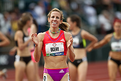 Olympic Trials Eugene 2012: women's 1500 meters final, Morgan Uceny wins