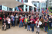 18-05-2019. Soldier F Protest Media City, Salford 180519