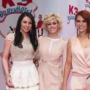 NLD/Amsterdam/20140202 - Premiere K3 Dierenhotel, K3, Kristel Verbeke, Josje Huisman en Karen Damen