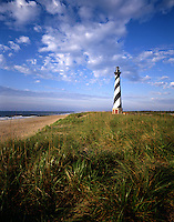 AA00157-01...NORTH CAROLINA - Cape Hatteras Lighthouse, symbol of the Outer Banks before it was moved in 1999. This photo was captured in 1984.