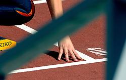 08-08-2006 ATLETIEK: EUROPEES KAMPIOENSSCHAP: GOTHENBORG <br /> Romara van Noort werd dinsdag nipt uitgeschakeld in de series van de 400 meter. Ze liep met 52,64 seconden opnieuw een dik persoonlijk record dit seizoen <br /> ©2006-WWW.FOTOHOOGENDOORN.NL