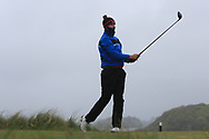 Adam Smith (Mullingar) on the 8th tee during Round 3 of the Ulster Boys Championship at Donegal Golf Club, Murvagh, Donegal, Co Donegal on Friday 26th April 2019.<br /> Picture:  Thos Caffrey / www.golffile.ie