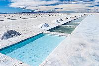 SALINAS GRANDES, ZONA DE LAS PILETAS, PROV. DE JUJUY/SALTA, ARGENTINA