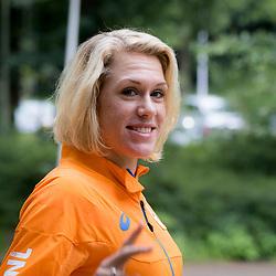 29-07-2016: Wielrennen: Persmoment OS wielervrouwen: Papendal  <br /> Het laatste persmoment van de Nederlandse wielervrouwen voor het vertrek naar Rio. Ellen van Dijk