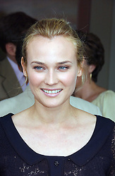Actress DIANE KRUGER at the Queen's Cup polo final sponsored by Cartier at Guards Polo Club, Smith's Lawn, Windsor Great Park on 18th June 2006.  The Final was between Dubai and the Broncos polo teams with Dubai winning.<br /><br />NON EXCLUSIVE - WORLD RIGHTS
