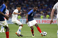Paul Pogba of France during the 2018 Friendly Game football match between France and USA on June 9, 2018 at Groupama stadium in Decines-Charpieu near Lyon, France - Photo Romain Biard / Isports / ProSportsImages / DPPI