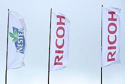 31-05-2008 VOLLEYBAL: DUTCH MASTERS BEACHVOLLEYBALL: SCHEVENINGEN<br /> Vlaggen Ricoh beach item sponsors<br /> ©2008-WWW.FOTOHOOGENDOORN.NL