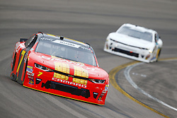 March 10, 2018 - Avondale, Arizona, United States of America - March 10, 2018 - Avondale, Arizona, USA: Justin Allgaier (7) brings his car through the turns during the DC Solar 200 at ISM Raceway in Avondale, Arizona. (Credit Image: © Chris Owens Asp Inc/ASP via ZUMA Wire)