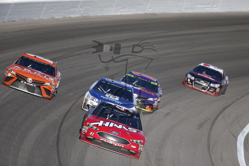 October 22, 2017 - Kansas City, Kansas, USA: Kurt Busch (41) battles for position during the Hollywood Casino 400 at Kansas Speedway in Kansas City, Kansas.