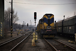 "A desolate train station is seen in Julius Mika's neighborhood in Ostrava, Czech Republic on March 4, 2012. He was one of 18 Roma children who were represented in the D.H. and Others v. Czech Republic case, the first challenge to systemic racial segregation in education to reach the European Court of Human Rights. When this case was first brought in 2000, Roma children in the Czech Republic were 27 times more likely to be placed in ""special schools,"" intended for the mentally disabled, than non-Roma children. In 2007, the Grand Chamber of the European Court of Human Rights ruled that this pattern of segregation violated nondiscrimination protections in the European Convention on Human Rights. Despite this landmark decision, little change has occurred: the ""special schools"" have been renamed but follow the same substandard curriculum and Roma continue to be assigned to these schools in disproportionate numbers. The process of integration has barely begun."