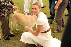 Asprey World Class Cup polo held at Hurtwood Park Polo Club, Ewhurst, Surrey on 17th July 2010.<br /> Picture shows:- CHARLENE WITTSTOCK
