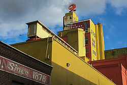 United States, Washington, Seattle, historic Rainier Brewery building